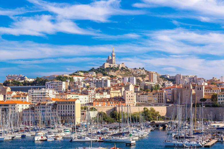Marseille und alter Hafen