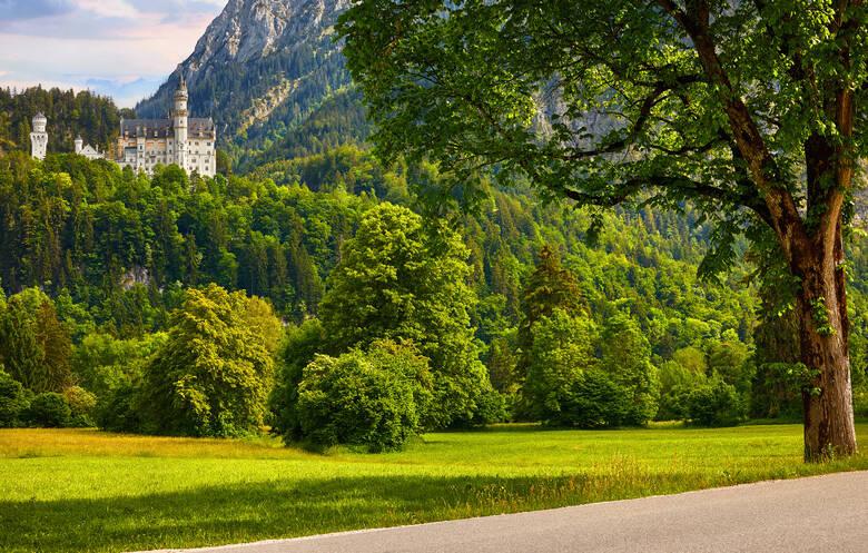 Romantische Straße und Schloss Neuschwanstein