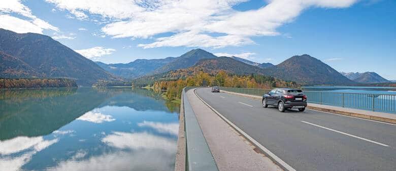 Sylvensteinbrücke, Deutschland