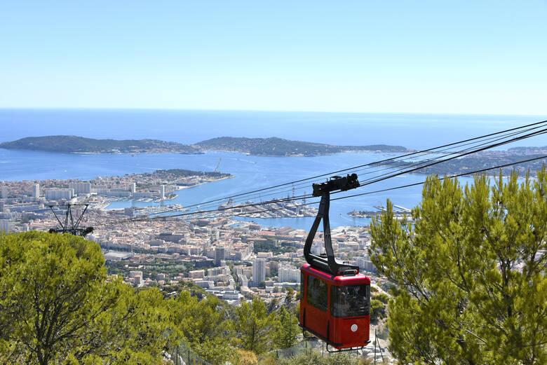 Seilbahn über Toulon