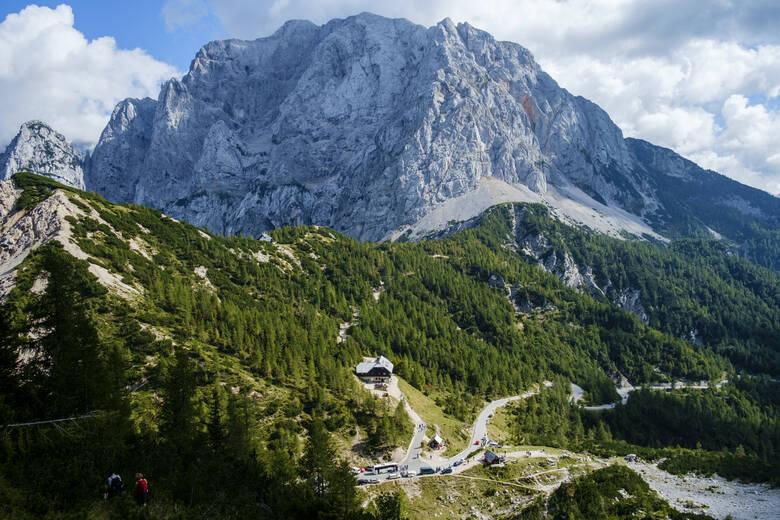 Vršičpass in Slowenien
