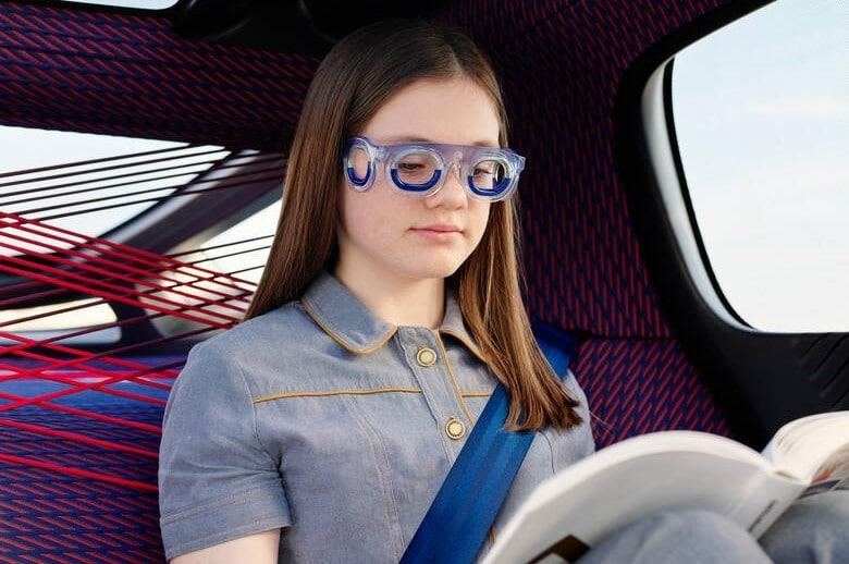 Brille gegen Übelkeit beim Autofahren