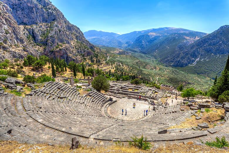 Delphi, Theater, Griechenland