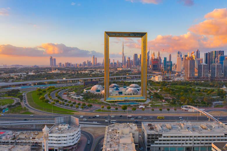 Der Rahmen von Dubai