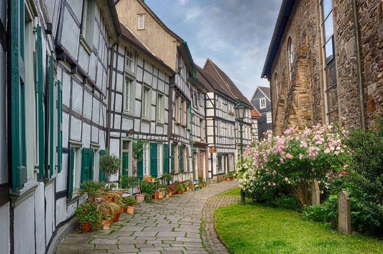 Fachwerkhäuser in der Altstadt von Hattingen