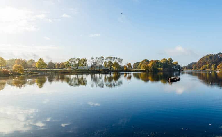 Ausflugsziel Kemnader See im Ruhrgebiet